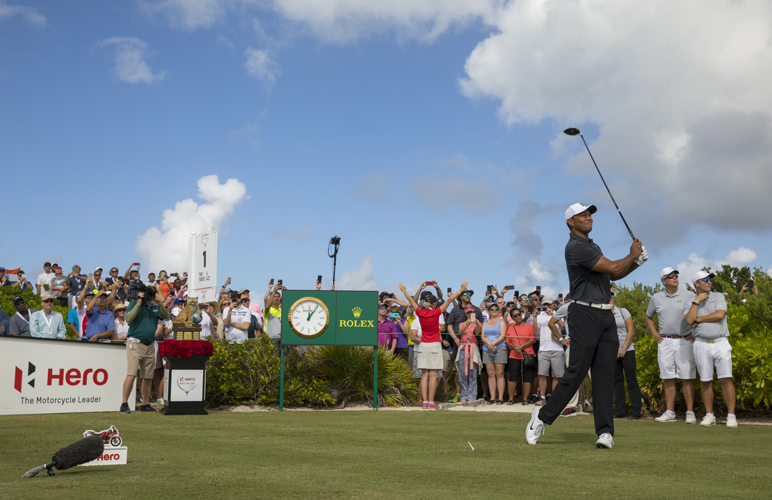 Tiger Woods playing in Hero World Challenge 2017